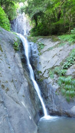 猿尾滝(上段 下段)