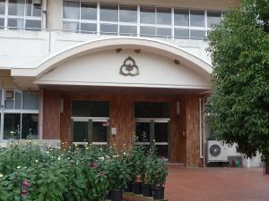 統合前で廃校前の兎塚中学校
