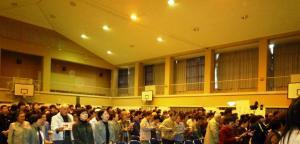 兎塚中学校閉校式