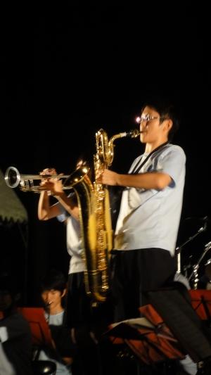 村岡高等学校ブラスバンド