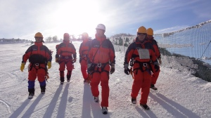 香美町村岡山岳救助隊