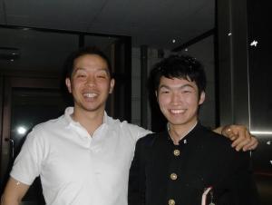 三男が中野カイロさんと散髪に行った!