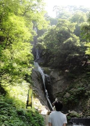 日本の滝百選「猿尾滝」