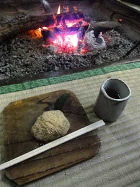 「みたき園」さんの山菜料理