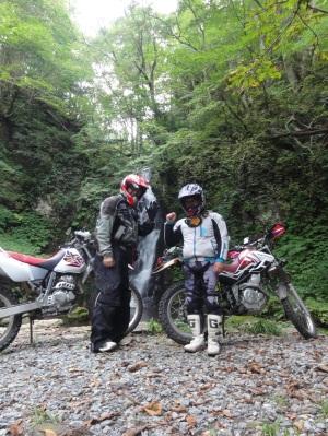 バイク林道 氷ノ山