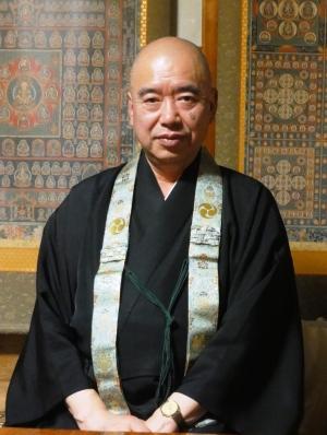 高野山真言宗・総本山金剛峯寺添田宗務総長様