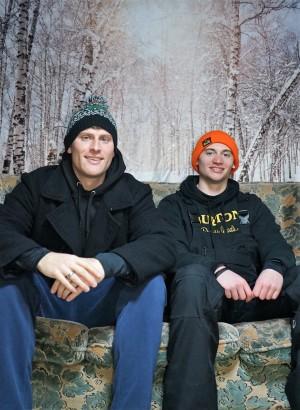 ハチ北の宿 よなごやJonathan DelkさんとDerek brightさんです。